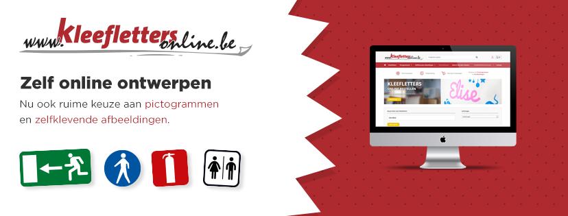Kleefletters en plakletters online bestellen